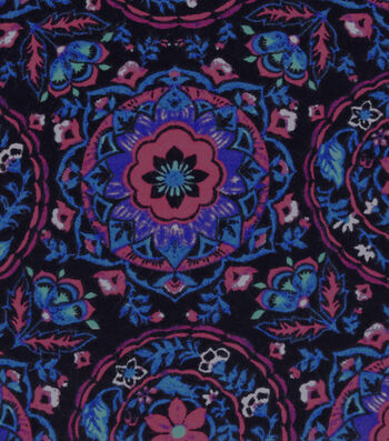 Snuggle Flannel Fabric 42''-Warm Sunset Medallion