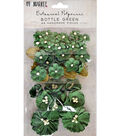 49 And Market Botanical Potpourri 49 pk Flowers-Bottle Green
