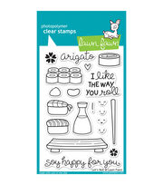 "Lawn Fawn Clear Stamps 4""X6""-Let's Roll, , hi-res"