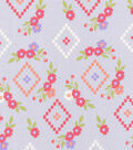 Keepsake Calico Cotton Fabric 43\u0022-Woodland Aztec Floral