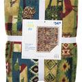 No Sew Fleece Throw 72\u0022-Distressed Wilderness Patch