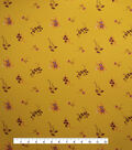 Downtown Collective Crepe Fabric 57\u0022-Ditsy Floral on Yellow