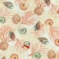 Waverly Upholstery Fabric 54\u0022-Shell We Dance/Sand
