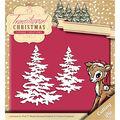 Yvonne Creations Traditional Christmas 2\u0027\u0027x3.25\u0027\u0027 Die-Snowy Tree