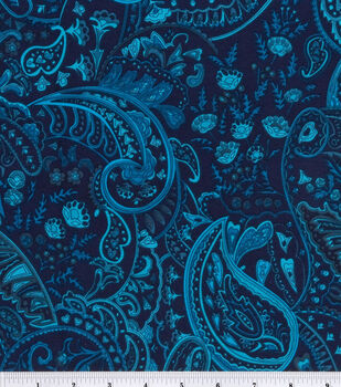 Simply Silky Fabric -Ocean