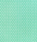 Snuggle Flannel Fabric-Ice Green Tonal Dot