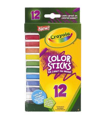 Crayola Color Sticks Woodless Colored Pencils-12/Pkg