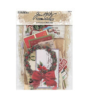 Tim Holtz Idea-Ology Ephemera Pack 51pk-Christmas, , hi-res