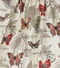 Home Essentials Lightweight Decor Fabric 45\u0027\u0027-Blush Borboleta