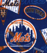 New York Mets Fleece Fabric-Vintage, , hi-res