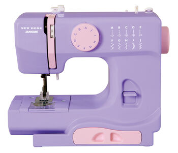 Janome Derby Portable Sewing Machine- Lady Lilac