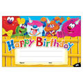 Trend Enterprises Inc. Happy Birthday Furry Friends Awards, 30/Pack