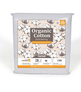 Fairfield Premium Organic Cotton Batting-King