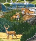Northwoods Fabric - Wilderness Animals Cotton