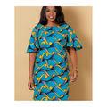 Butterick Pattern B6656 Misses & Womens & Petite Dress-Size 18W-24W