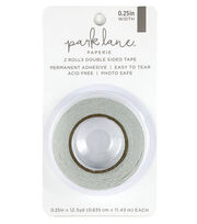 Park Lane Paperie 2 pk Double-sided Tapes 0.25''x12.5 yds, , hi-res