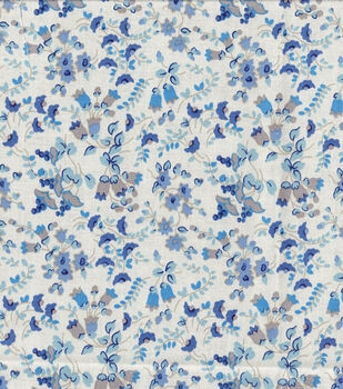 Keepsake Calico Cotton Fabric -Hyacinth Blue