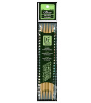 "Clover Bamboo Double Point Knitting Needles 7""-Size 10.5, , hi-res"