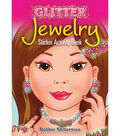 Dover Publications-Glitter Jewelry Sticker Activity Book