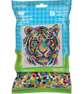 Perler Beads & Pattern Kit-Rainbow Tiger