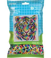 Perler Beads & Pattern Kit-Rainbow Tiger, , hi-res