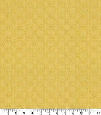 "Home Decor 8""x8"" Fabric Swatch-Waverly Full Circle Sunburst"