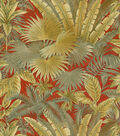 Tommy Bahama Print Fabric-Bahamian Brz/Sd/Nutmeg