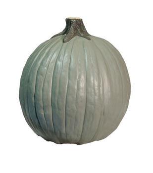 Fun-Kins Halloween 10'' Carvable Pumpkin-Green Sage