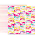 Pink Paislee Summer Lights Double-Sided Cardstock 12\u0022X12\u0022-#04