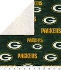 Green Bay Packers Fleece Fabric-Sherpa