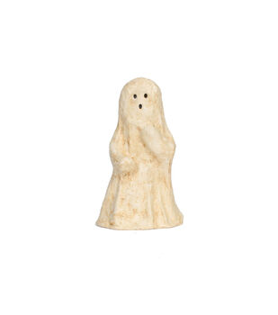 Maker's Halloween Large Paper Pulp Ghost Tabletop Decor