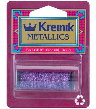 Kreinik Braid Metallic Thread Fine Size 8
