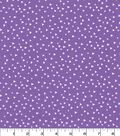 Quilter\u0027s Showcase Cotton Fabric -Scattered Triangle on Purple