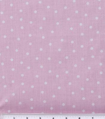Keepsake Calico Cotton Fabric -Pink Polka Dot