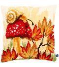 Vervaco 16\u0027\u0027x16\u0027\u0027 Cushion Cross Stitch Kit-Autumn Scene