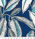 PKL Studio Outdoor Fabric 9\u0022x9\u0022 Swatch-Jungle Jive Ink