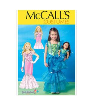 McCall's Child Costumes-M7175