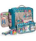 360 Crafter\u0027s Rolling Bag-Aqua