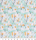 Keepsake Calico Cotton Fabric-Abstract Green Yellow