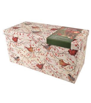 Medium Orn Box Birds