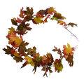 Blooming Autumn 66\u0027\u0027 Shimmer Maple Leaf Garland-Multi