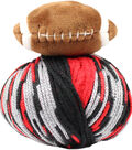 DMC Top This! Team Colors Yarn-Black & Red