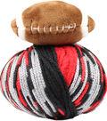DMC Top This! Team Colors Yarn-Black & Red