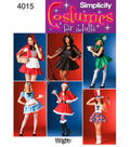 Simplicity Pattern 4015-Misses Costumes
