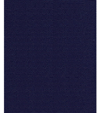 "Offray Ribbon Express 3"" Grosgrain-Navy"