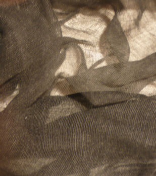 """The Witching Hour Halloween Cheese Cloth Fabric 34""""-Black"""