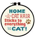 Dimensions Stitch Wits Pet Hair Mini Counted Cross Stitch Kit