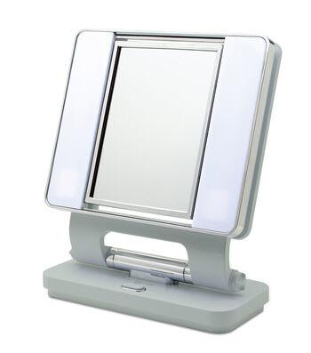 OttLite Lighting 26 W Dual-sided Natural Makeup Mirror-Sage Green