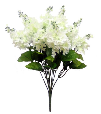 Fresh Picked Spring 20.75'' Lilac Bush-White