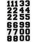 Jolee\u0027s Boutique 25 pk 3\u0027\u0027 Numbers Iron-on Transfers-Black